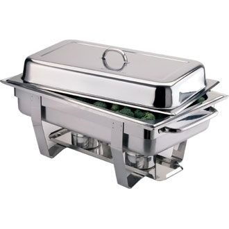 Chafing Dish GN 1/1 Inox pour bruleur à combustible