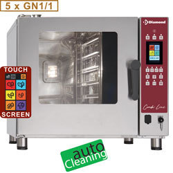 Four mixte TOUCH SCREEN - 5x GN 1/1 - AUTO-CLEANING