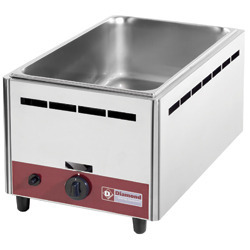 Bain marie gaz, de table GN 1/1 - 150 mm