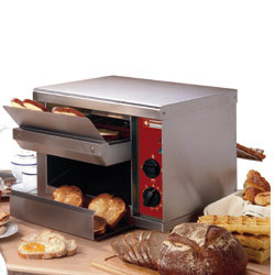 Toaster automatique ROLLER GRILL, 540 toasts/heure CT540B
