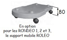 Option support mobile ROLEO pour RONDEO