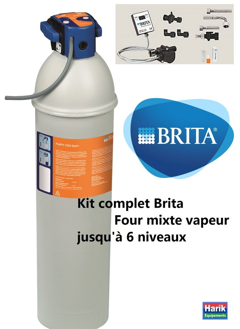 kit premi re installation purity c500 steam pour four mixte vapeur jusqu 39 6 niveaux harik. Black Bedroom Furniture Sets. Home Design Ideas