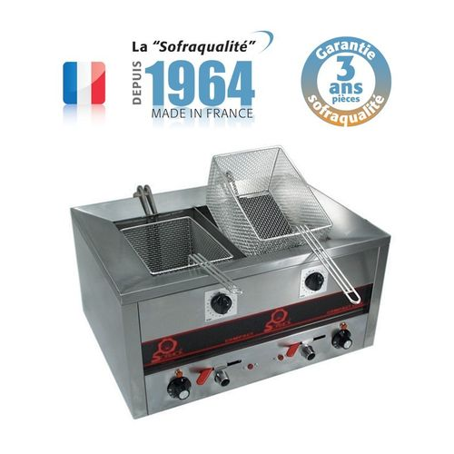 Friteuse Compact Line 500 - Snack II - FRIT.O.MATIC - 2x7 L (7000W-400V)